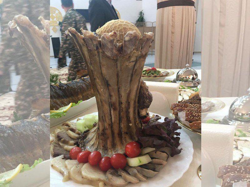 Мясной «Байтерек» приятно удивил гостей