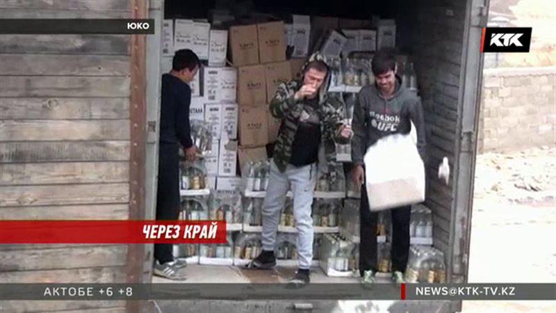 39 тысяч бутылок водки, пива и коньяка закопали в ЮКО