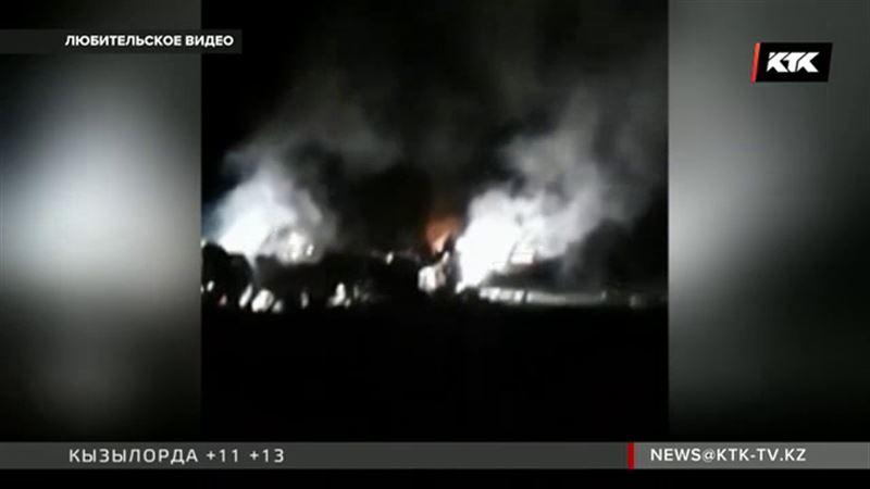 Момент крушения самолета Ан-28 зафиксировала видеокамера