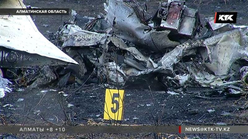 Черный ящик самолета, разбившегося под Алматы, серьезно поврежден