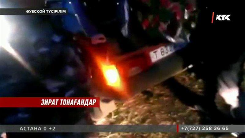 Петропавлда зират басындағы гүлдерді тонап оны сатумен айналысқан саудагер ұсталды