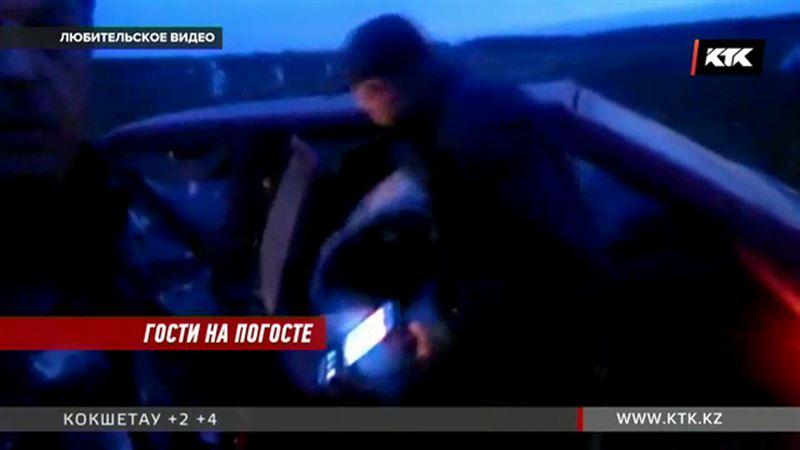 На кладбище Петропавловска задержали вора-бизнесмена