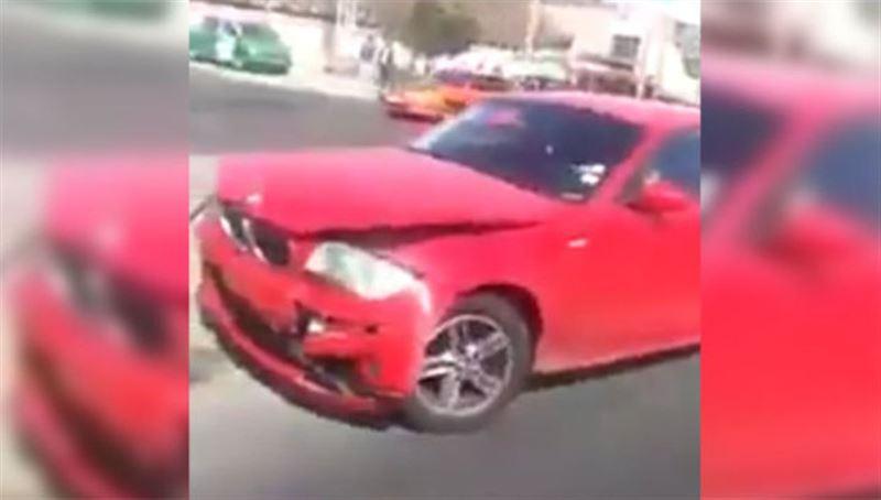 Женщина разбила машину мужа за измену