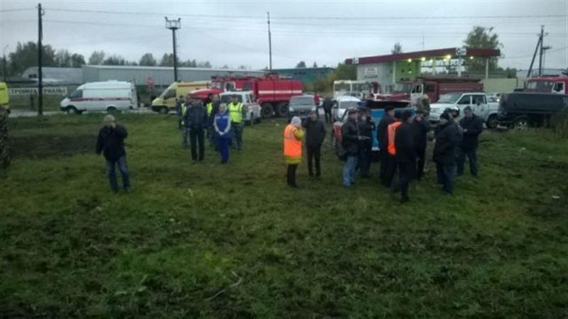 В МИД РК прокомментировали аварию с участием казахстанского автобуса в России