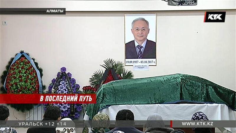 В Алматы простились с врачом, погибшим при крушении Ан-28