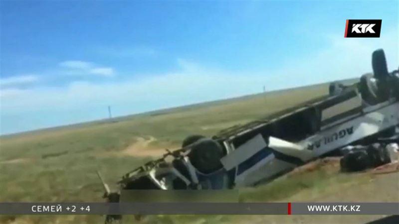 На междугородних автобусных маршрутах из Казахстана люди гибнут не впервые