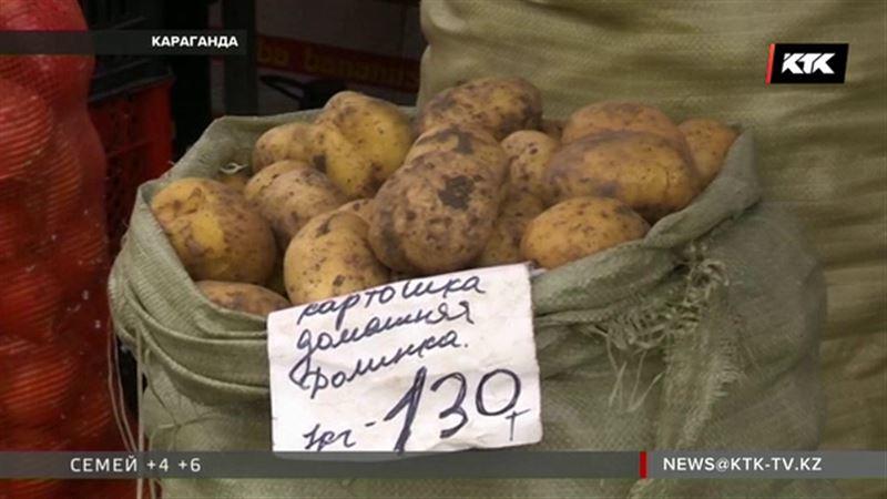 В два раза выросла цена на картофель в отдельных казахстанских регионах