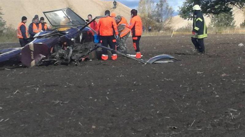 В Латвии разбился вертолет, есть жертвы
