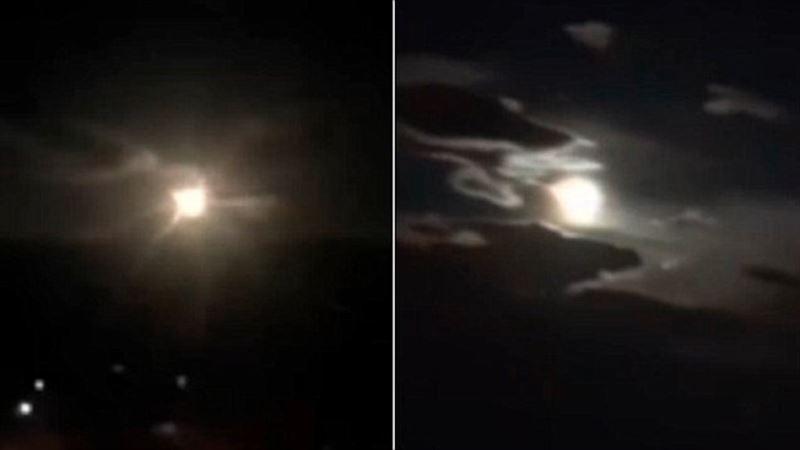Гигантский метеор взорвался над Китаем