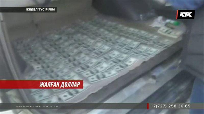 Алматыда жалған доллар жасағандар ұсталды