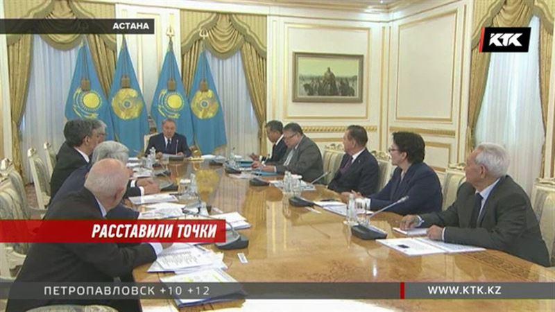 Нурсултану Назарбаеву представили новый проект казахского алфавита
