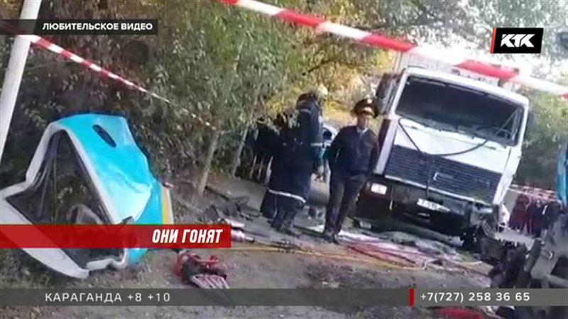 Опять по встречной: погиб алматинец, трое пострадавших
