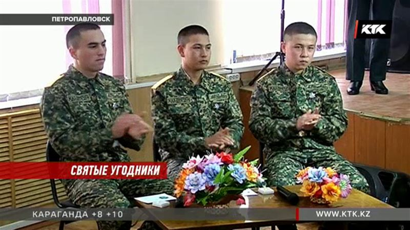 В Петропавловске солдаты задержали преступников, ограбивших церковь