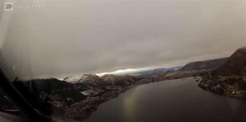 ВИДЕО: Летчик показал то, что никогда не видят пассажиры