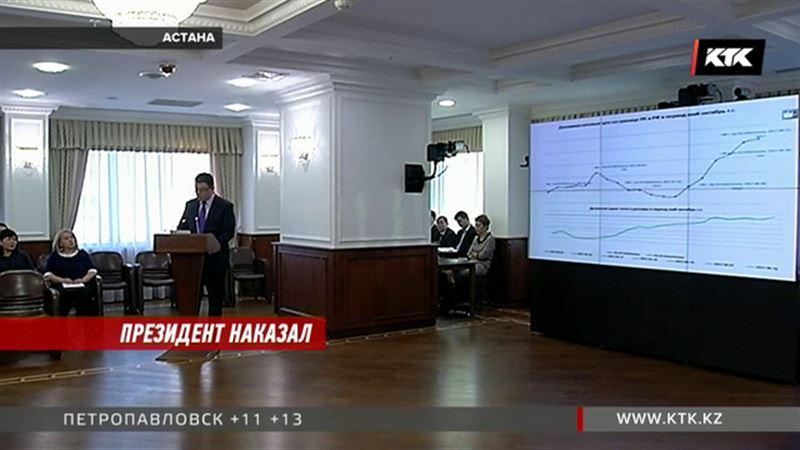 Канату Бозумбаеву объявил выговор президент