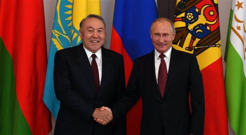 Нурсултан Назарбаев участвовал в заседании Совета глав государств СНГ