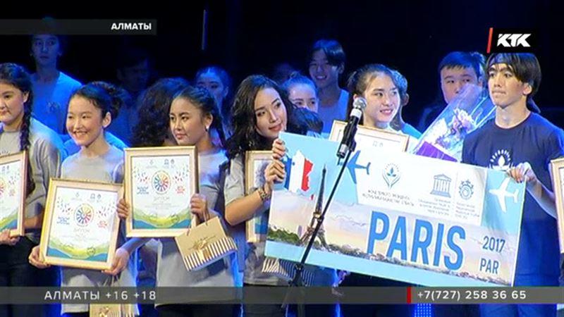 Юных певцов и танцоров из Казахстана ждут в Париже