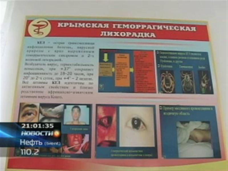В ЮКО скончался больной конго-крымской лихорадкой