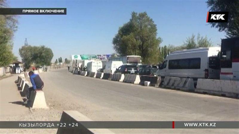На  границе с Кыргызстаном кормят гречневой кашей и пирожками – премьер распорядился