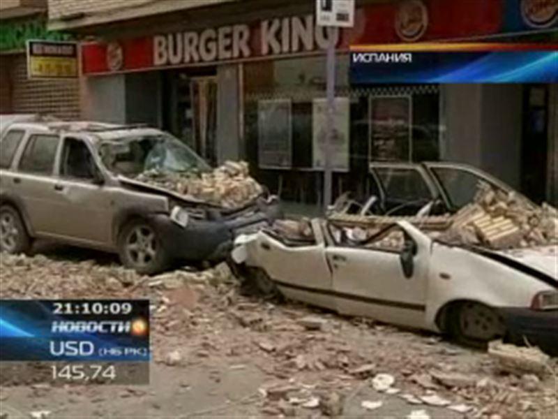 В испанском городе Лорка произошло два сильных землетрясения
