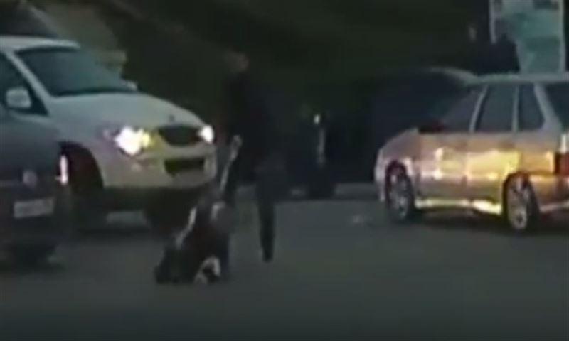 Водитель избил пенсионера на пешеходном переходе
