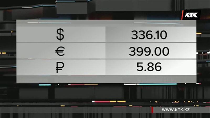 Доллар в Казахстане подешевел на 10 тенге