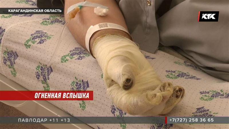 Вспыхнул газ на металлургическом комбинате Темиртау, пострадали люди