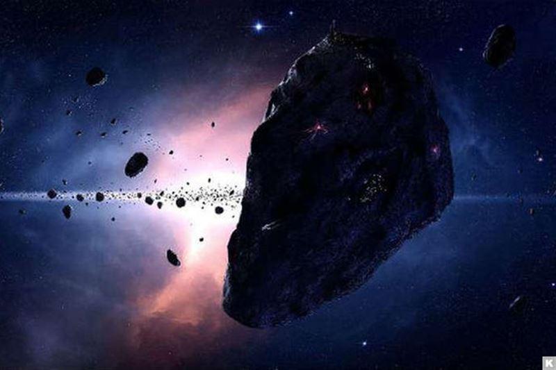 ВИДЕО: Гигантский астероид пролетел рядом с Землей