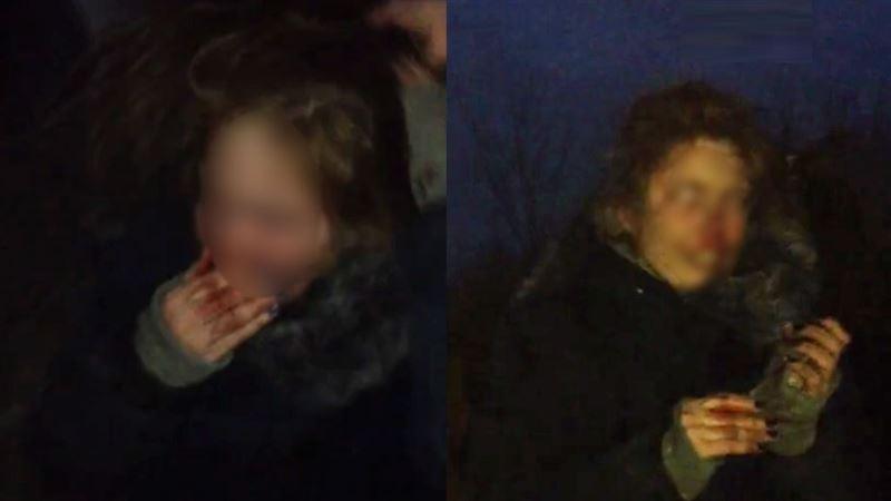 (18+): Подростки сняли на видео зверское избиение школьницы