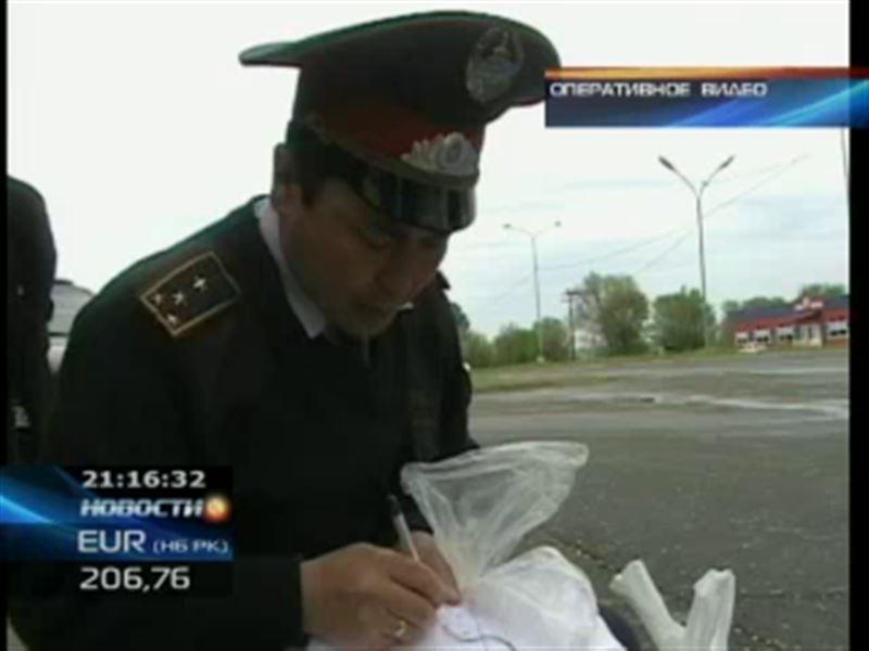 Героин в гипсовой повязке обнаружили полицейские