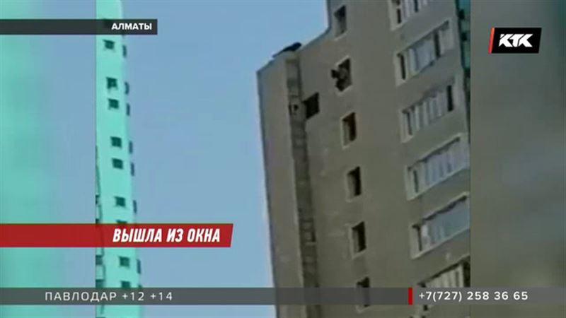 Девушка, прыгнувшая из окна высотки, погибла от удара о кондиционер