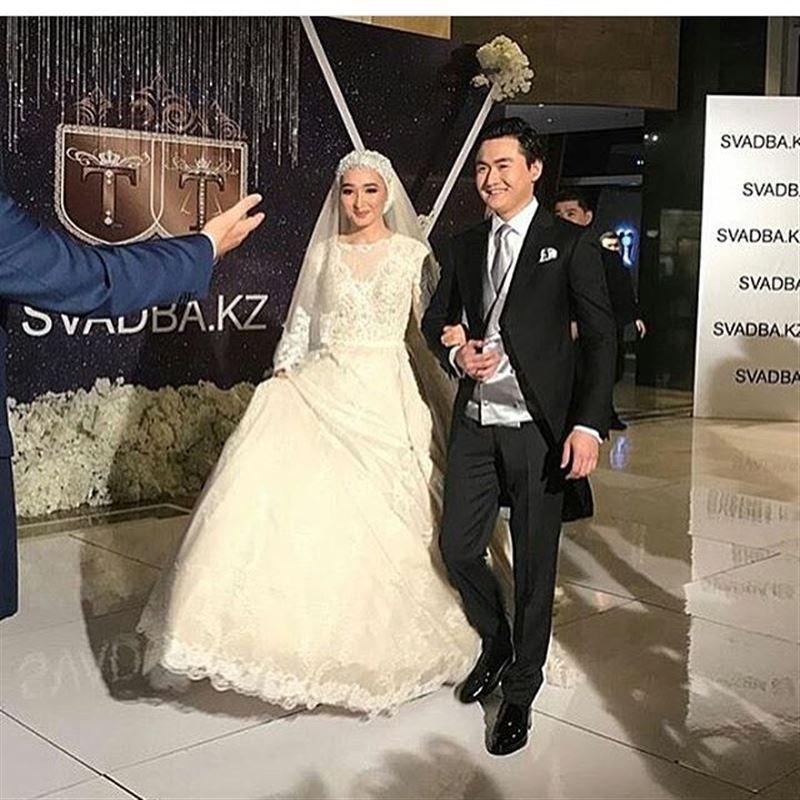 Первые фото со свадьбы Торегали Тореали и Толкын