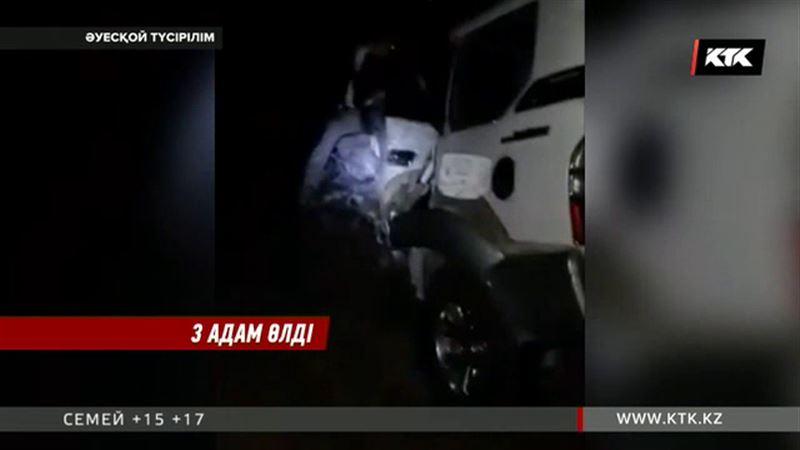 Ақмола облысында жан түршігерлік жол апаты болды