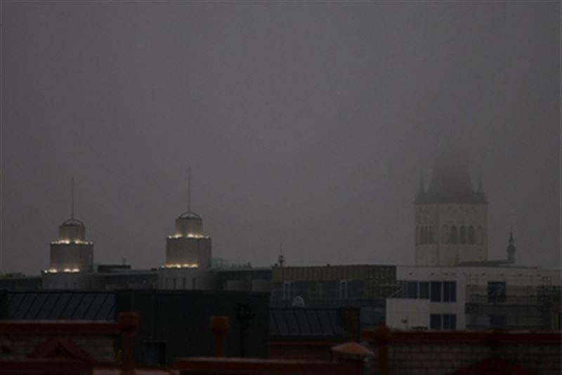 Черный дождь выпал в Эстонии