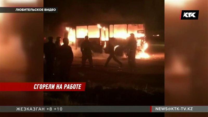 Кондуктор и водитель автобуса в реанимации – во время ремонта произошел взрыв