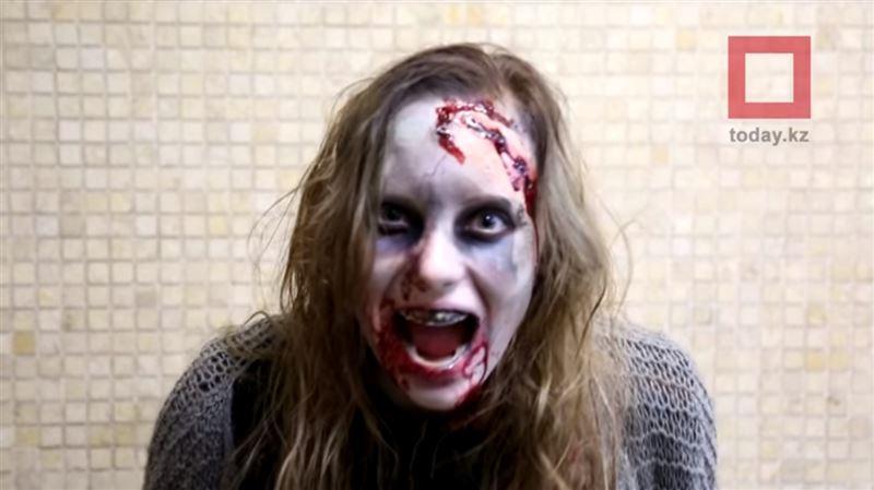Зомби напугали пассажиров алматинского метро