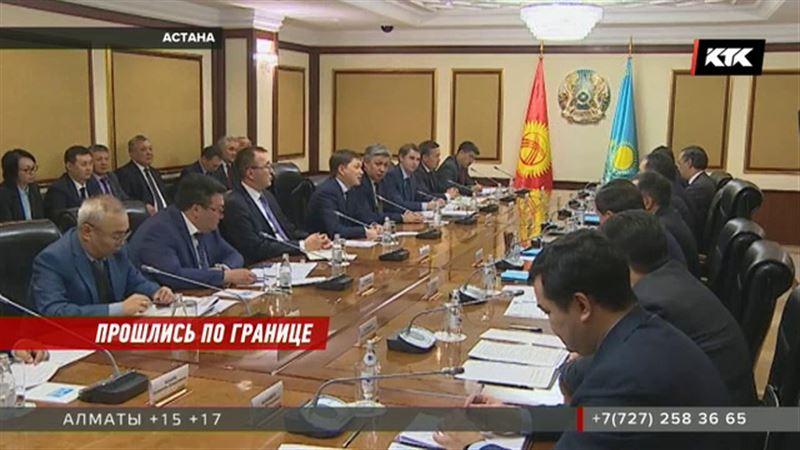 Без нервотрепки смогут пересечь границу жители Казахстана и Кыргызстана – премьеры договорились