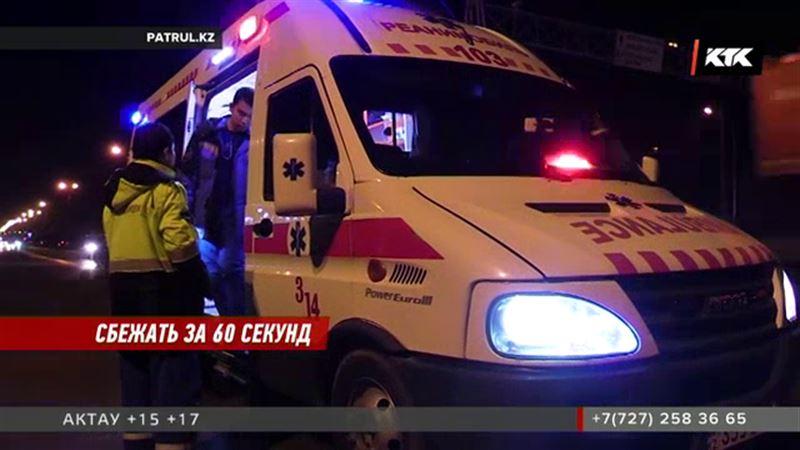 В Алматы водитель элитного внедорожника насмерть сбил женщину