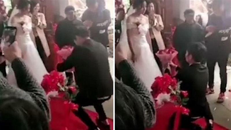 Передумала:Китаянка отказалась выходить замуж в последнюю минуту