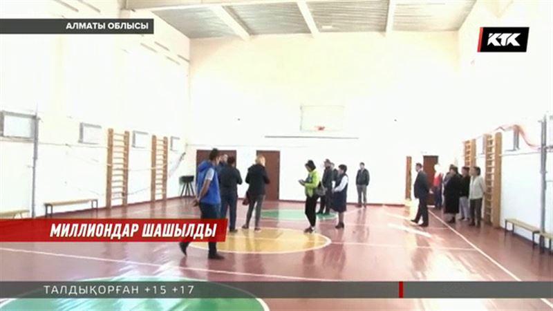Алматы облысында ауыл мектебінің құрылысына қатысты жемқорлық дауы туып жатыр