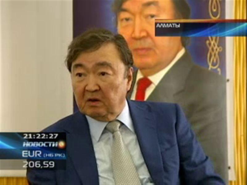 Олжаса Сулейменова наградили азербайджанским орденом «Достлуг»
