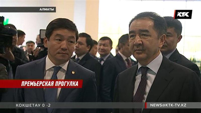 Премьер Сагинтаев сходил в алматинский супермаркет