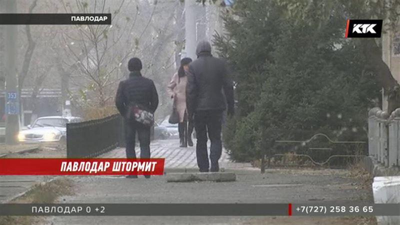 Павлодарские спасатели просят не выходить на улицу – ветер