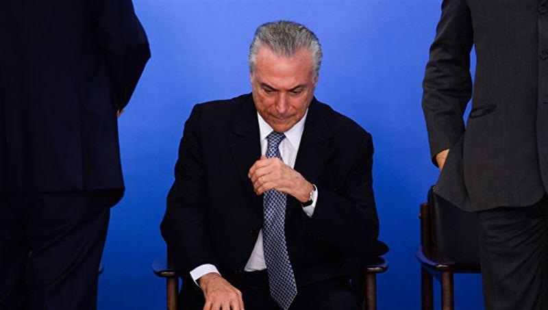 Президент Бразилии срочно госпитализирован