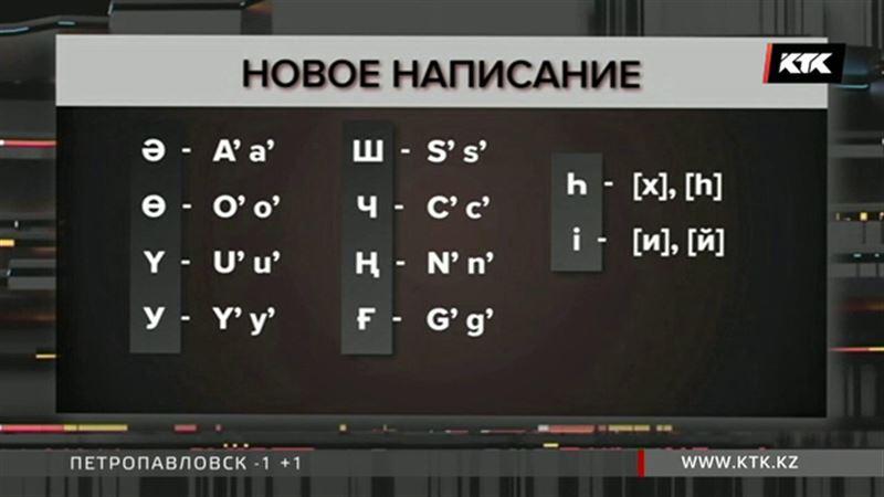 Президент утвердил новый казахский алфавит на основе латиницы