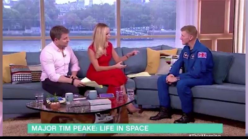 Ведущая удивила астронавта глупым вопросом