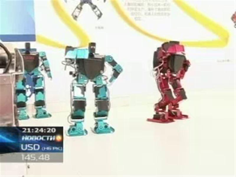 В Китае прошла выставка робототехники