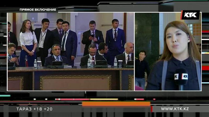 ПРЯМОЕ ВКЛЮЧЕНИЕ: сирийский вопрос обсуждается в Астане