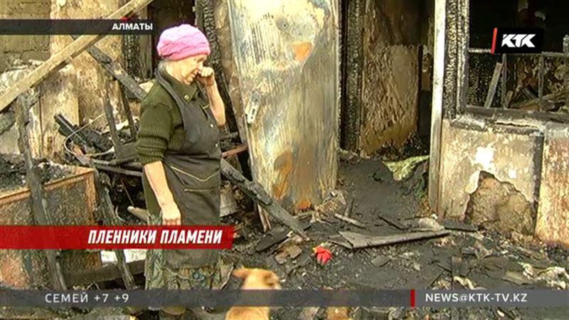 В Алматы сгорел приют для бездомных животных