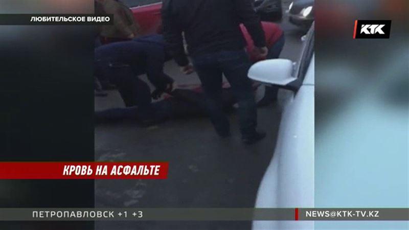 Арестован мужчина, с особой жестокостью избивший другого на столичной парковке